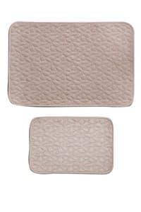 Набір килимків LUX SUFFY 40*60+60*90 BEJ - фото 10279