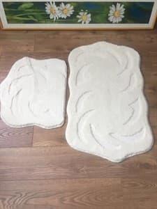 Набір килимків SUPER EVA 60*50+60*100 KREM - фото 10303