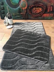 Набір килимків SYMBOL ZIGZAG 60*50+60*100 FUME - фото 10308