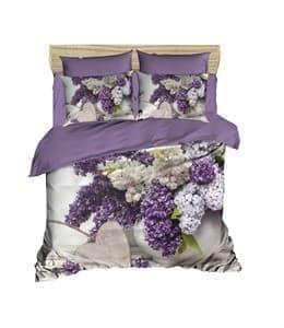 КПБ LIGHTHOUSE ranforce+3D White Lilac 200*220/4*50*70 - фото 10418