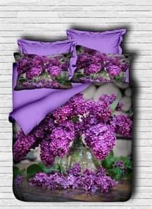 КПБ LIGHTHOUSE ranforce+3D Purple Lilac 200*220/4*50*70 - фото 10420