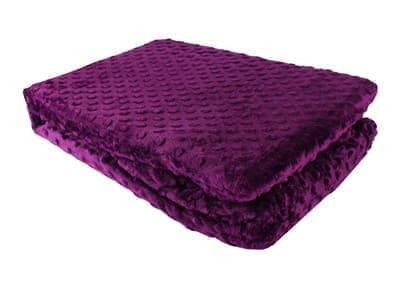 Покривало-плед HOBBY TOMURCUK фіолетовий 150*220 - фото 12026
