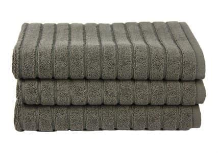 Рушник для ніг Maisonette Rainbow 60*60 сірий 850 г, м2 - фото 15794