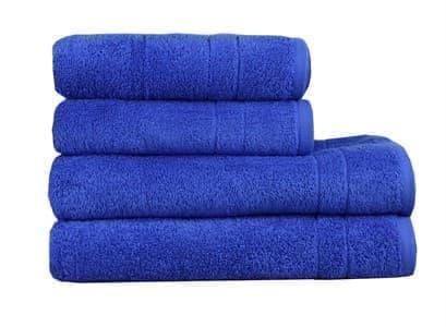Рушник махр Maisonette Gold 70*140 синій 450 г/м2 - фото 16162