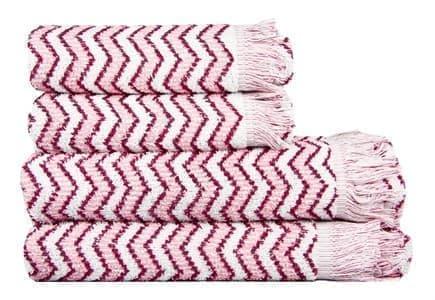 Рушник махр Maisonette Lord 50*100 т.рожевий 450 г/м2 - фото 16431