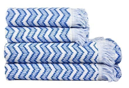 Рушник махр Maisonette Lord 50*100 блакитний 450 г/м2 - фото 16497