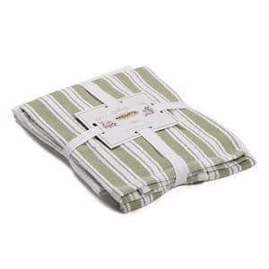 Набір рушників Maisonette Regata 40*60 2 шт. зелений 400 г/м2 - фото 16759