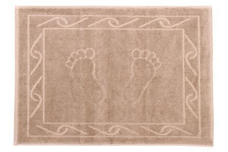 Рушник для ніг Hayal 50*70 бежевий 700г/м2 - фото 21100