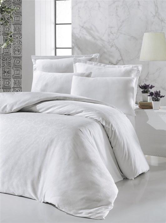 Victoria Deluxe Jacquard Sateen VALERIA білий 200*220/2*50*70/2*70*70 - фото 21559