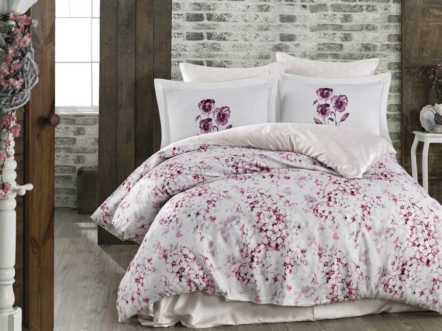 Hobby Exclusive Sateen Jimena рожевий 200*220/4*50*70 - фото 21622