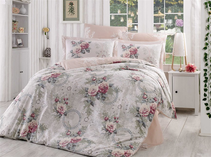 Hobby Flannel Clementina св.рожевий 200*220/2*50*70 - фото 21644