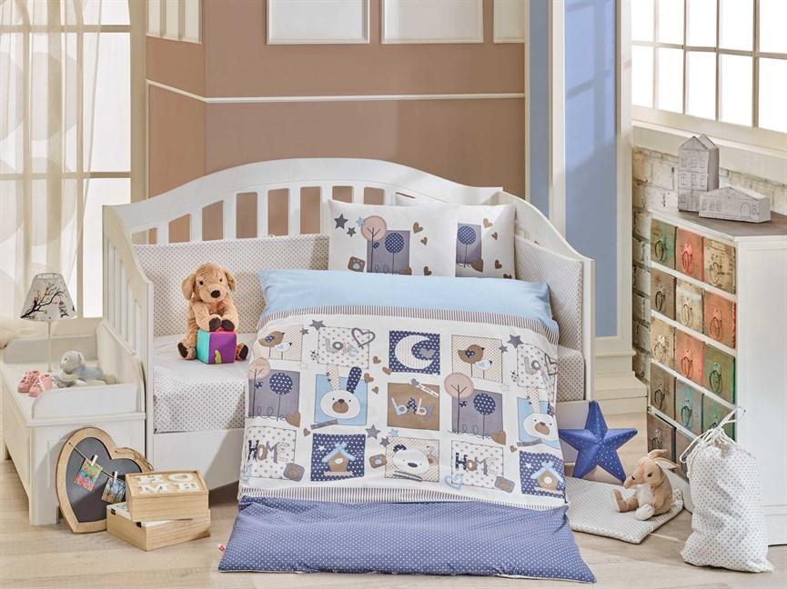Hobby Sweet Home блакитний 100*150/2*35*45 - фото 22062