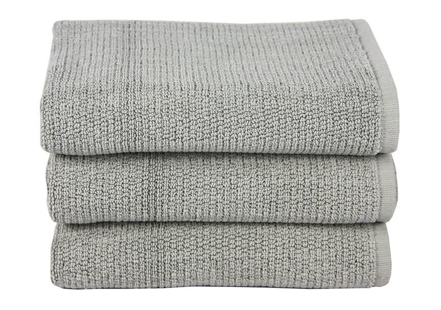 Рушник для ніг Maisonette Marlon 50*80 сірий 1000г/м2 - фото 23400