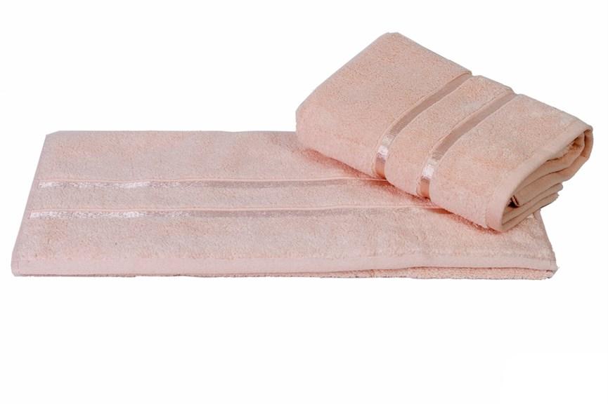 Рушник DOLCE 50*90 персиковий 560г/м2 - фото 23570
