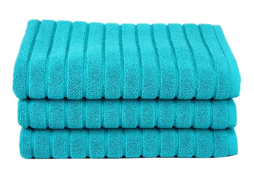 Рушник для ніг Maisonette Rainbow 60*60 бірюзовий 850г/м2 - фото 23811
