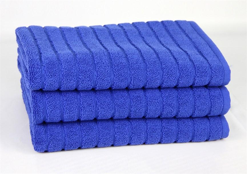Рушник для ніг Maisonette Rainbow 60*60 синій 850г/м2 - фото 23820