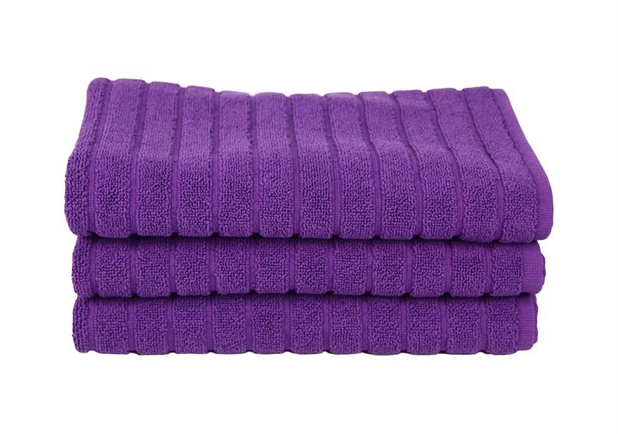 Рушник для ніг Maisonette Rainbow 60*60 фіолетовий 850г/м2 - фото 23824