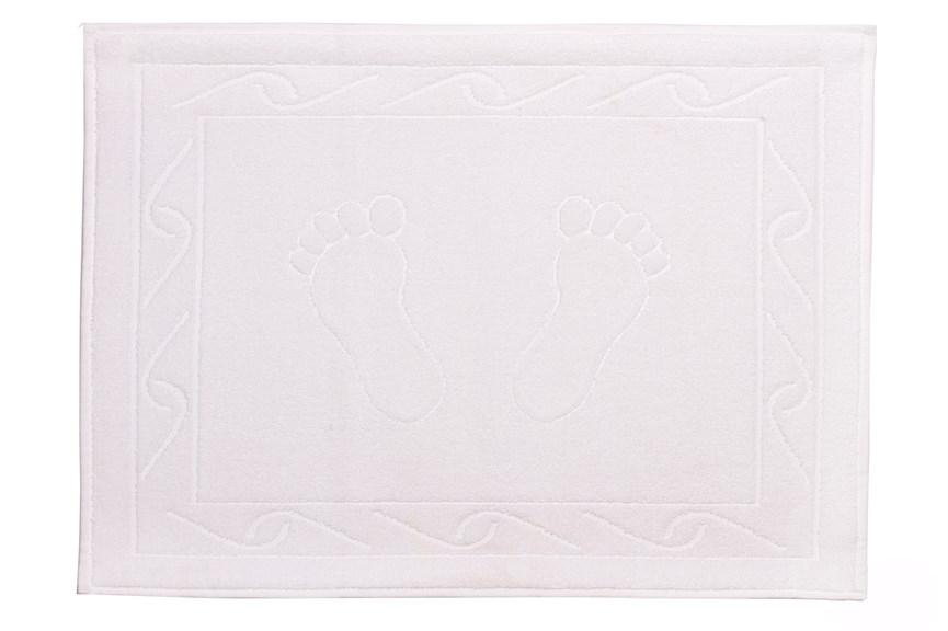 Рушник для ніг Hayal 50*70 білий 700г/м2 - фото 23943