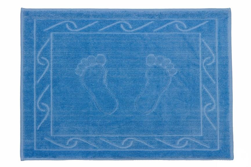 Рушник для ніг Hayal 50*70 синій 700г/м2 - фото 23946