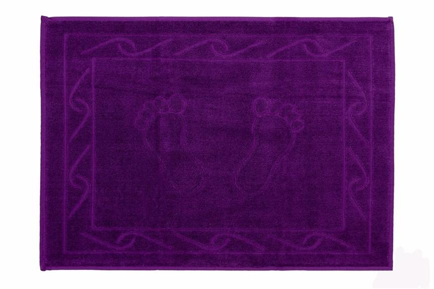 Полотенце для ног Hayal 50*70 фиолетовый - фото 23947