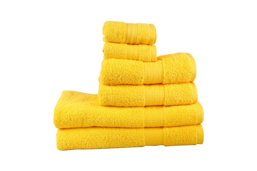 Рушник RAINBOW K.Sari 50х90 жовтий 500г/м2 - фото 24190