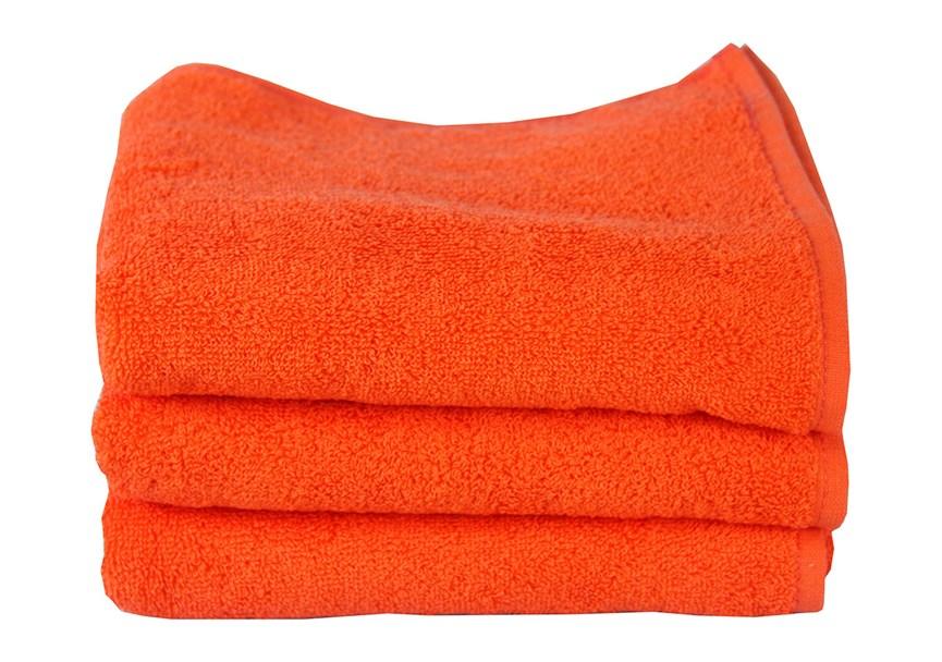 Рушник махровий Maisonette Izzy 34*80 помаранчевий 420 г/м2 - фото 24353