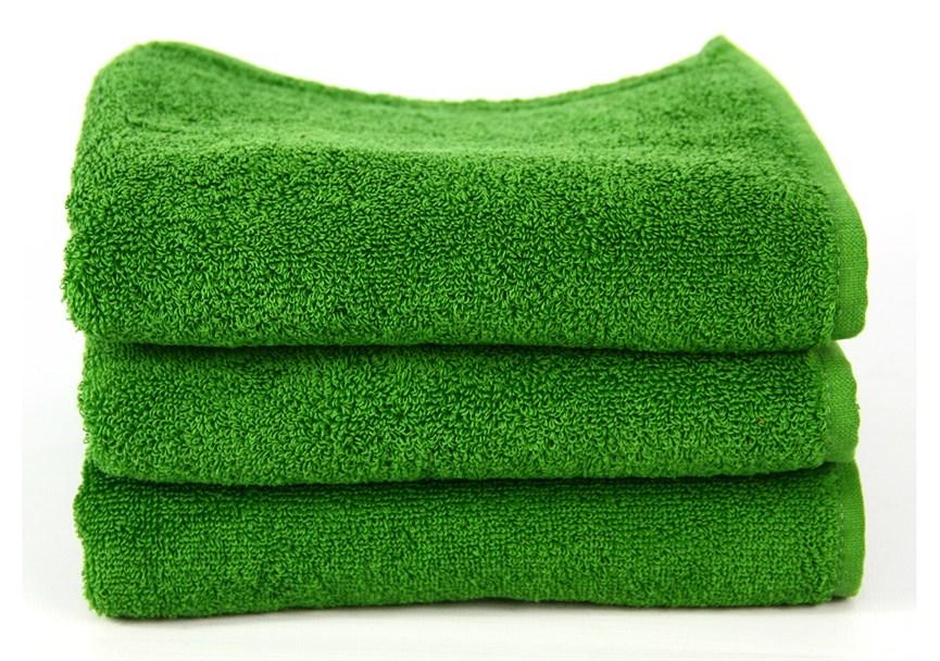 Рушник махровий Maisonette Izzy 34*80 зелений 420 г/м2 - фото 24357