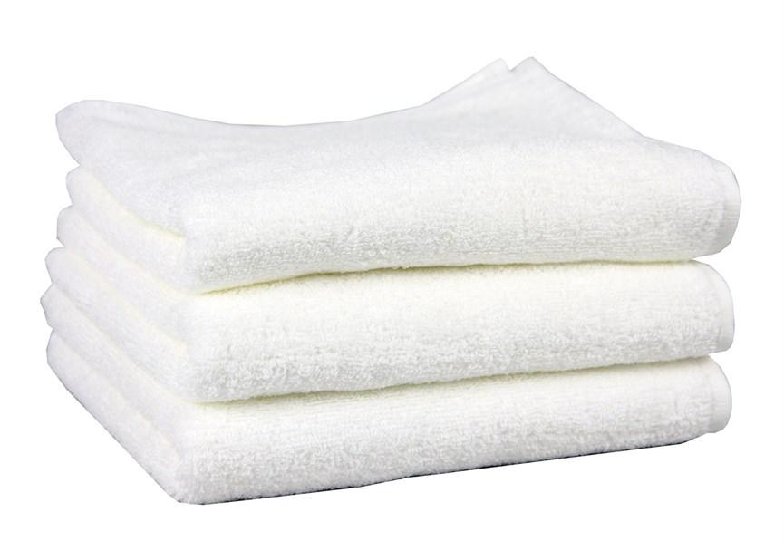 Рушник махровий Maisonette Izzy 34*80 білий 420 г/м2 - фото 24369