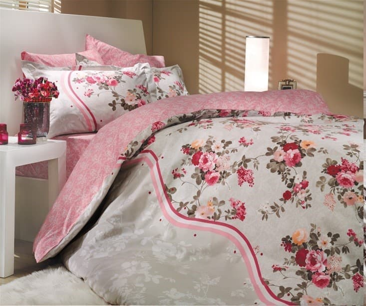 Hobby Poplin Susana рожевий  2*160*220/2*50*702*70*70 - фото 6218