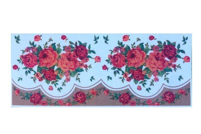 Килимок д/кухні COOKY 50*125 RED ROSE - фото 6534