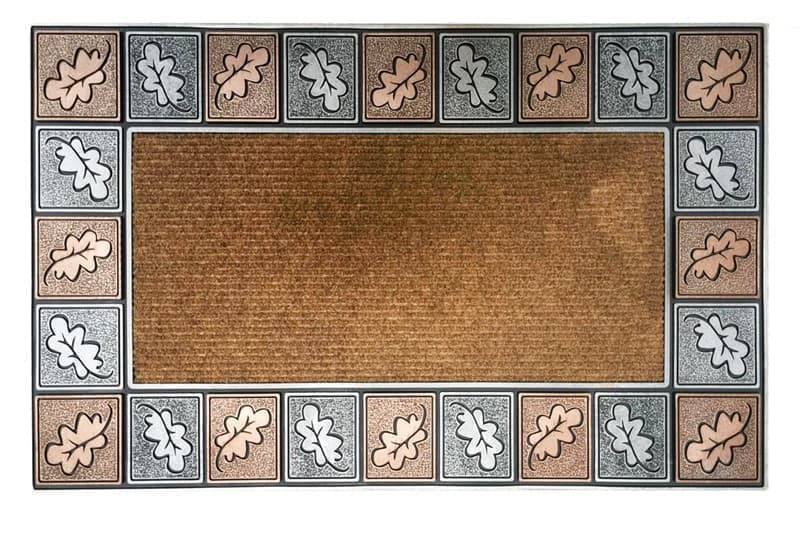 Килимок придверний MODERN 45*75 ENGRAVED LEAVE - фото 6599