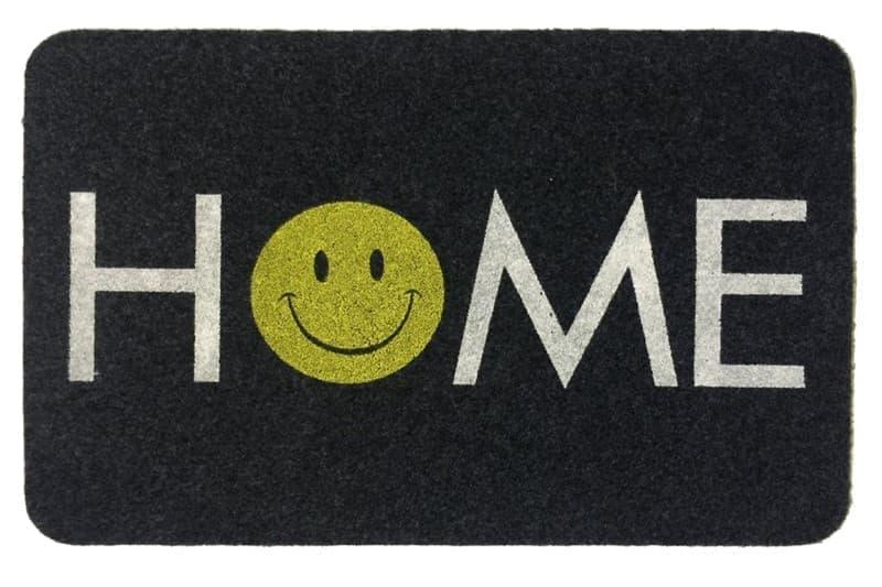 Килимок придверний MEGAN 40*60 GRI HOME SMILE - фото 6613