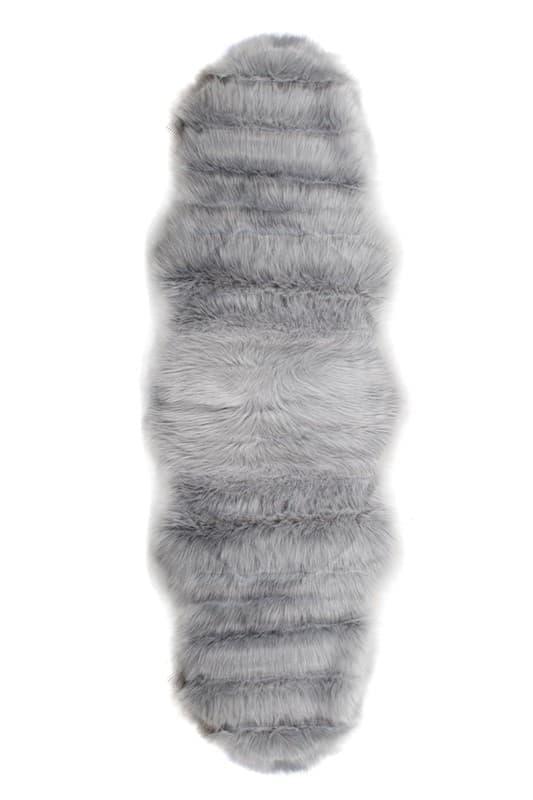 Килимок штучне хутро ALASKA POST 60*180 GRI - фото 6682