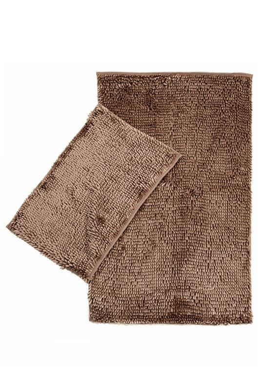 Набір килимків LILO 40*60+60*100 BROWN - фото 6703
