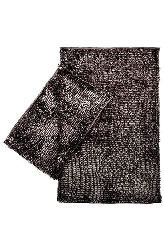 Набір килимків LILO 40*60+60*100 DARK GREY - фото 6704