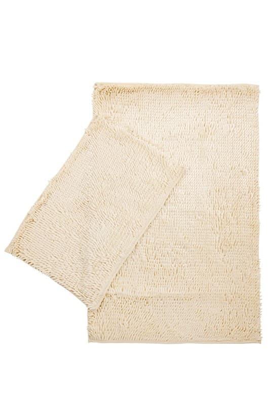 Набір килимків LILO 40*60+60*100 IVORY - фото 6705