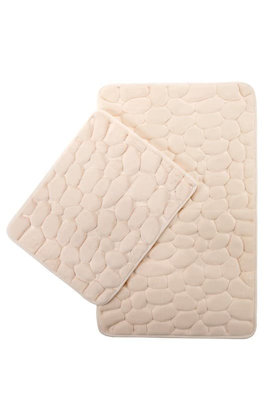 Набір килимків SAMOS 40*50+50*80 KREM TAS - фото 6721