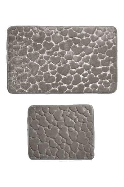 Набір килимків SAMOS 50*60+60*100 GRI KALP - фото 6726