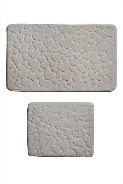 Набір килимків SAMOS 50*60+60*100 KREM KALP - фото 6727