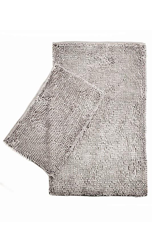 Набір килимків LILO 40*60+60*100 LIGHT GREY - фото 6812