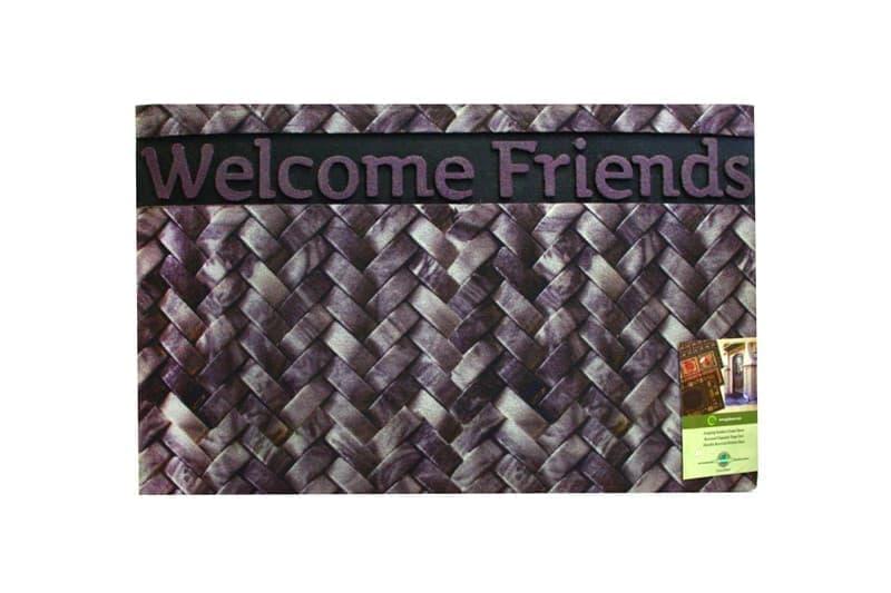 Килимок придверний MOZAIK 45*75 WELCOME FRIENDS - фото 6851