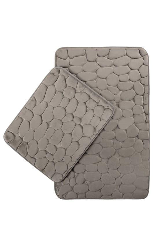 Набір килимків SAMOS 40*50+50*80 GRI TAS - фото 6879