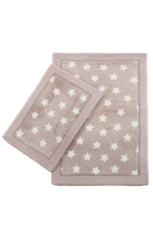 Набір килимків LUX SUFFY 40*60+60*90 YILDIZLI G.KURUSU - фото 6946