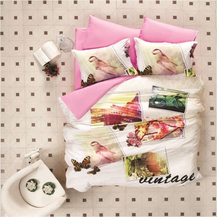 КПБ LP 3D Sateen VINTAGE 200*220/4*50*70 - фото 7026