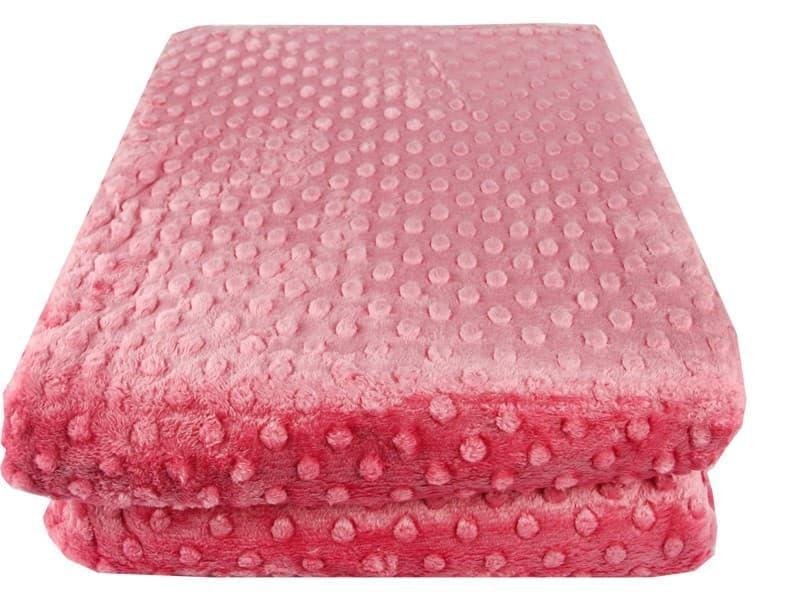 Покривало-плед HOBBY TOMURCUK т.рожевий 200*220 - фото 7392