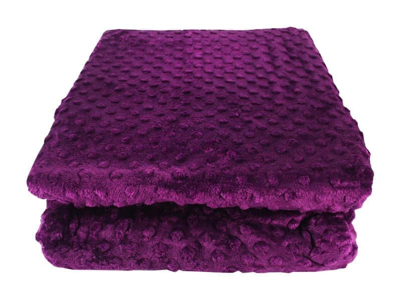Покривало-плед HOBBY TOMURCUK фіолетовий 200*220 - фото 7401