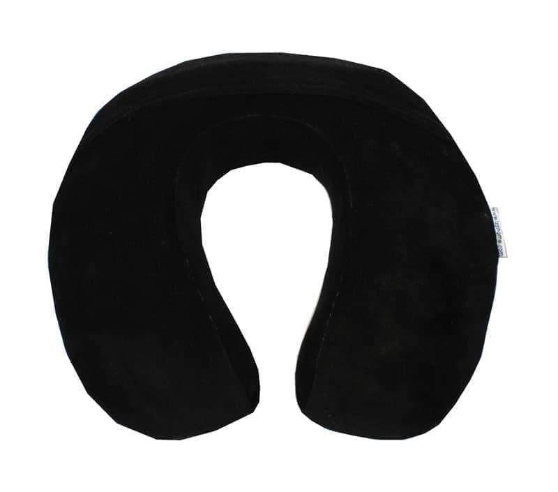 Подушка ORTOPEDIA TRAVEL COLOR чорн. 34*33*10 - фото 7764