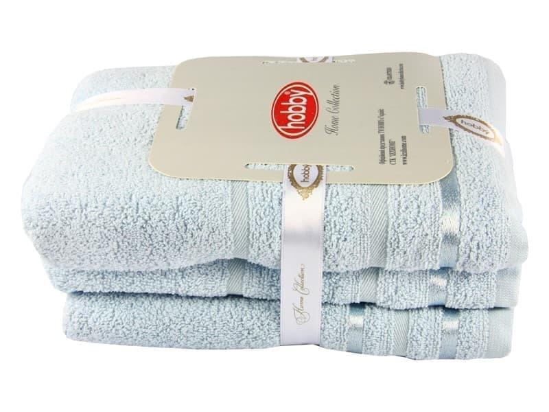 Набір рушник NISA блакитний 100*150 1шт. - фото 8171