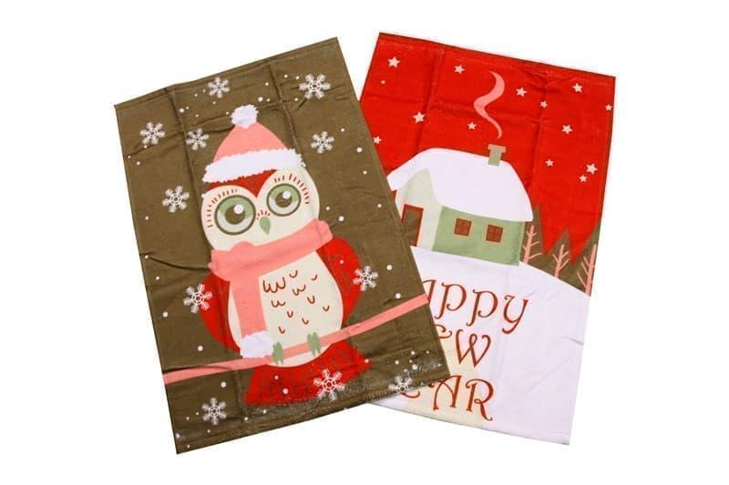 Набір рушників д/кухні New Year V1 40*60 2 шт. - фото 8358
