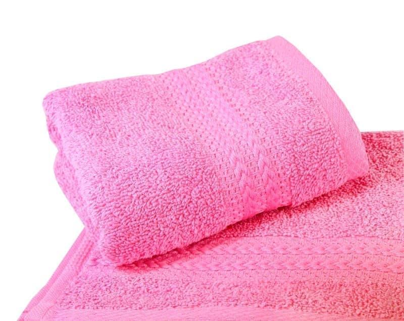 Рушник RAINBOW Pembe 30х50 св.рожевий 500г/м2 - фото 8649